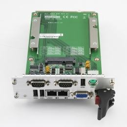 Cartes pour PC industriel CompactPCI, MIC-3325 with D525 CPU 2G RAM XTM dual slot