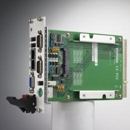 Cartes pour PC industriel CompactPCI, MIC-3325 w/ N455 CPU 2G RAM 8HP-2 XTM dual slot