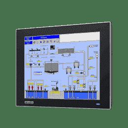 """Moniteur ou écran industriel tactile, 12.1"""" XGA Ind Monitor w/Resistive TS (VGA/DP)"""