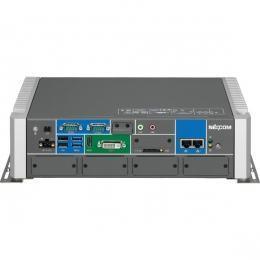PC fanless avec accès par devant Intel® Core™ i3/i5/i7 4ème génération - avec 6 slots d'extension mPCIe
