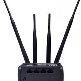 Routeur industriel 4G/3G/2G WiFi 3xEthernet 1xWAN -40°C +75°