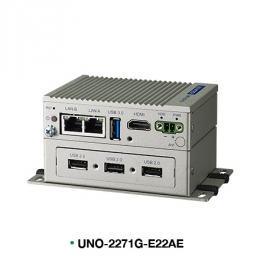 PC industriel fanless à processeur E3815 1.46GHz, 4G RAM, 32G, 2xLAN, 4xUSB, HDMI