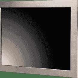 Panel PC Haute luminosité tactile résistif en coffret INOX IP65 sur les 6 faces, processeur QuadCore Intel J1900