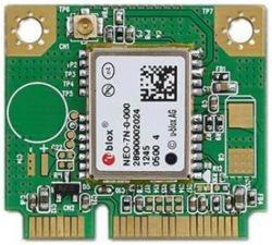 Carte d'extension sans fil, Advantech u-blox 7 GPS/GNSS Half-mPCIe card