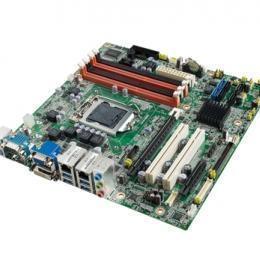 Carte mère industrielle Core2Duo LGA775 mATX avec DP et DVI-D