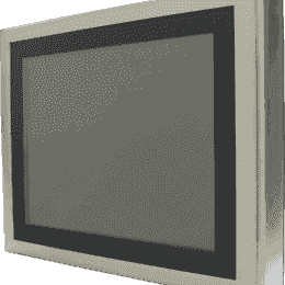 """Panel PC 15"""""""" à 19"""""""" pour température extrêmes (-20°C à +55°C) tactile résistif sans aspérité en coffret INOX IP65 sur les 6 faces, processeur Intel® Atom™ E3845 Quad Core"""
