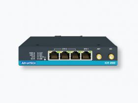 Routeur 4G industriel avec 2 x SIM, 4 ports ethernet, 1 entrée et 1 sortie digitale