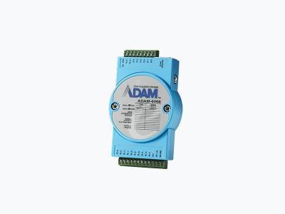 Module ADAM 6 entrées Digitales et 6 sorties à Relais 5A, compatible Modbus TCP