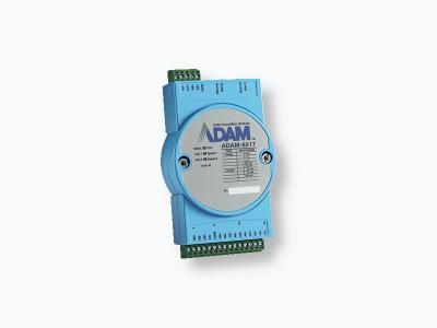 Module ADAM 8 entrées analogiques Modbus MQTT et 2 ports Ethernet