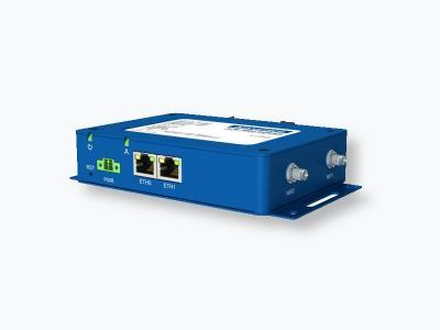 Routeur ethernet industriel avec  2 ports RJ45, 1x RS232, 1x RS485