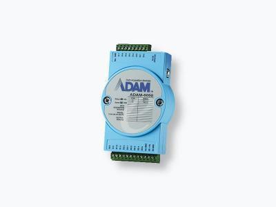 Module ADAM 12 entrées et 6 sorties digitales et compatible Modbus/TCP