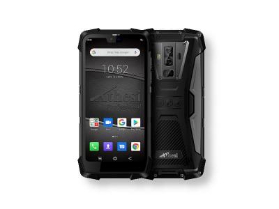 """Smartphone durci 5.84"""" Android 9 étanche / 6Go de RAM et 128Go ROM avec cardiomètre et détecteur de gaz"""