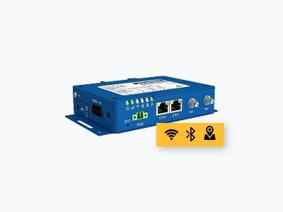 Routeur 4G industriel 2 ethernet, 2 x série, WiFi, GPS et Bluetooth