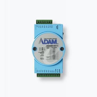 ADAM-6017 Module ADAM 8 entrées analogiques / 2 sorties digitales + Modbus