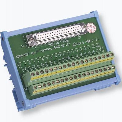 ADAM-3937 Bornier à vis vers connecteur DB-37 Rail Din