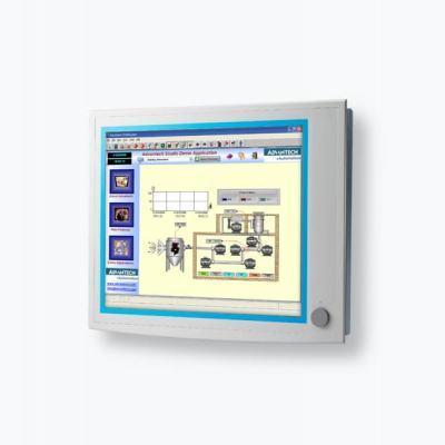 """FPM-5191G Ecran industriel tactile 19"""" (résistif) avec VGA et DVI  IP65 en façade avant"""