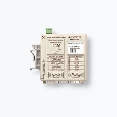 COMETH-FIELD-RD Passerelle série RS232/RS422/RS485 vers Ethernet TCP/IP