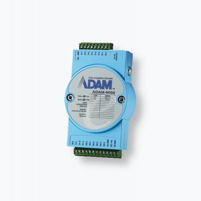 ADAM-6050 Module ADAM 12 entrées et 6 sorties digitales et compatible Modbus/TCP