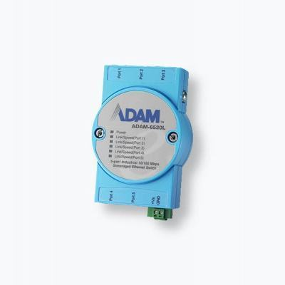 ADAM-6520L Switch Ethernet 5 ports 10/100Mbps 0 à 60°C non managé