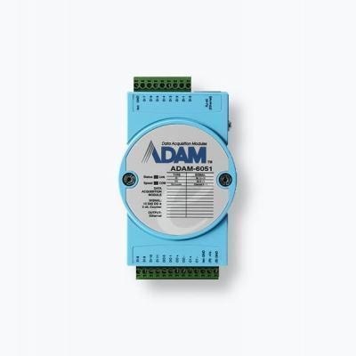 ADAM-6051 Module ADAM 12 entrées digitales, 2 compteurs et 2 sorties digitales + Modbus