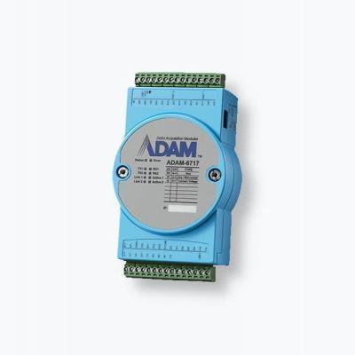 ADAM-6717 Module ADAM sous Linux avec 8 entrées analogiques 5 digitales et 4 sorties digitales + Node RED