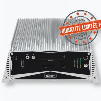 IOT-BOX-F3800 PC Fanless avec i5, 8Go DDR4, 2 x 256Go SSD RAID, Windows 10 IoT