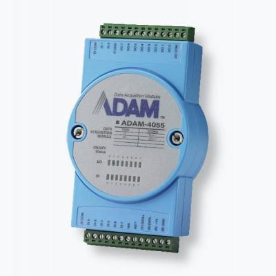 ADAM-4055 Module 8 Entrées et 8 Sorties Digitales isolées, compatible Modbus