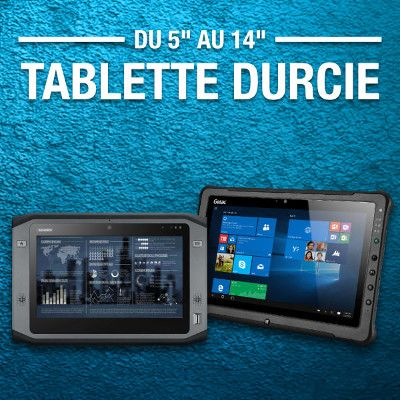 Tablette tactile industrielle